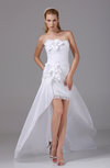 Disney Princess Hall Sleeveless Zipper Taffeta Flower Bridal Gowns