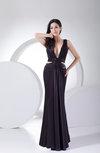 Sexy Column V-neck Sleeveless Zip up Paillette Party Dresses