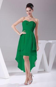 kelly green color bridesmaid dresses uwdresscom