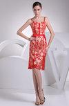 Classic Sheath Spaghetti Zipper Lace Club Dresses