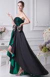 Cute Sleeveless Backless Taffeta Mini Party Dresses