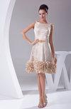 Cute Sleeveless Zip up Knee Length Prom Dresses