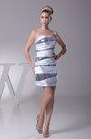 Elegant Column Sweetheart Sleeveless Short Party Dresses