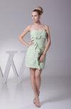 Elegant Sweetheart Chiffon Mini Ruching Prom Dresses