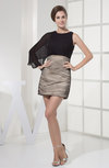Casual Sheath Mini Plainness Bridesmaid Dresses