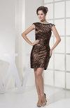 Modest Sheath Sleeveless Zip up Ruching Prom Dresses