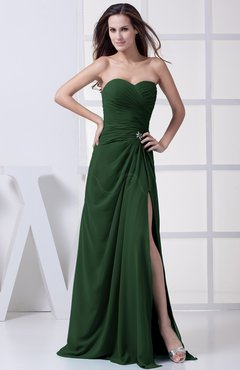 Hunter Green Bridesmaid Dresses - UWDress.com