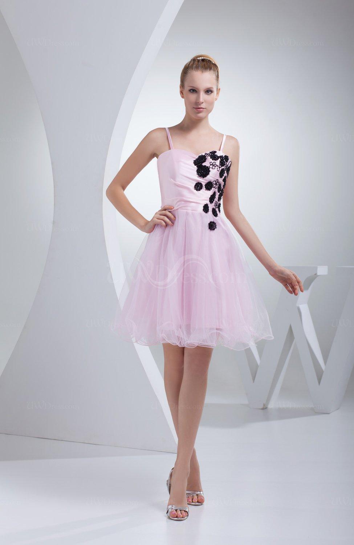 Cute Baby Doll Zip Up Short Flower Party Dresses Uwdress Com