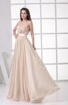 Plain Sweetheart Sleeveless Zipper Floor Length Wedding Guest Dresses