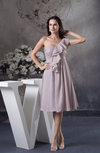 Cute A-line One Shoulder Sleeveless Chiffon Bridesmaid Dresses