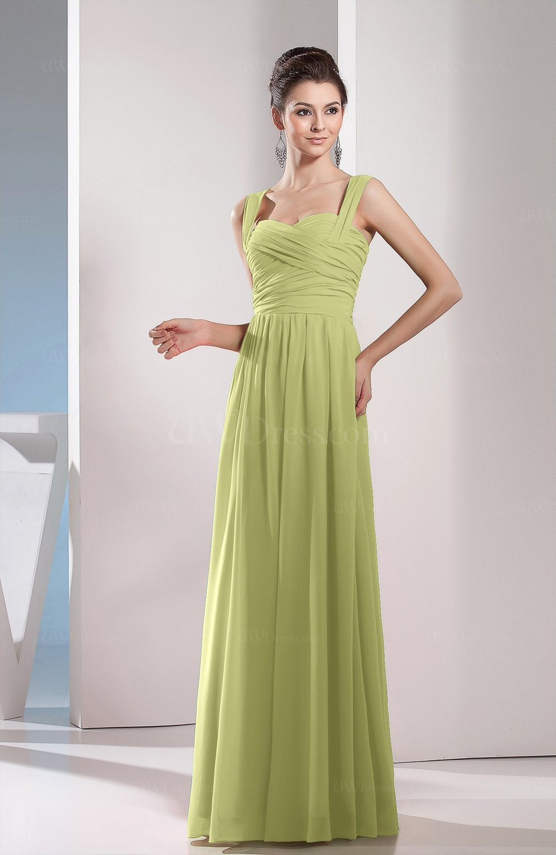 Cute A Line Chiffon Floor Length Ruching Bridesmaid Dresses