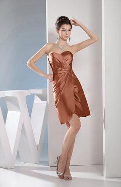 Cinnamon Chiffon Dresses