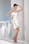 Cute A-line Sweetheart Sleeveless Taffeta Short Club Dresses