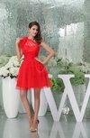 Romantic A-line Sleeveless Plainness Graduation Dresses