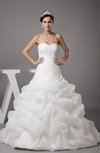 Cinderella Hall Princess Sleeveless Backless Paillette Bridal Gowns