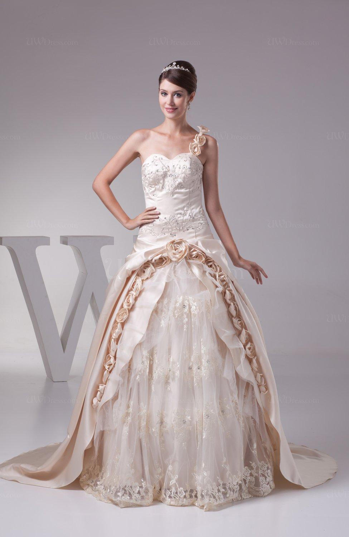 rhinestone ball gown