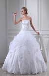 Cinderella Church Strapless Backless Floor Length Edging Bridal Gowns