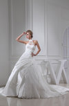 Glamorous Hall Princess Illusion Cathedral Train Lace Bridal Gowns