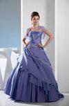Disney Princess Hall Princess Sleeveless Taffeta Floor Length Rhinestone Bridal Gowns
