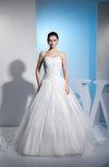 Disney Princess Hall Princess Sleeveless Organza Beading Bridal Gowns