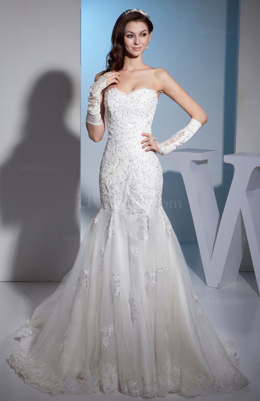 Glamorous church sweetheart sleeveless backless chapel for Chapel train wedding dress
