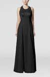 Glamorous Halter Sleeveless Backless Floor Length Bridesmaid Dresses