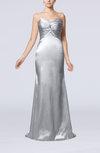 Sexy Trumpet Sweetheart Sleeveless Sweep Train Bridesmaid Dresses