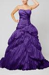 Disney Princess Hall Strapless Sleeveless Taffeta Beading Bridal Gowns
