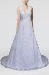 Gorgeous Garden A-line Halter Zipper Elastic Woven Satin Bridal Gowns
