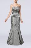 Modern Sleeveless Zipper Taffeta Floor Length Evening Dresses