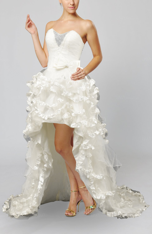 White disney princess hall a line sleeveless backless for Disney line wedding dresses