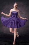 Modern A-line Sleeveless Chiffon Mini Cocktail Dresses