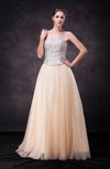 Classic A-line Sweetheart Backless Floor Length Sequin Prom Dresses