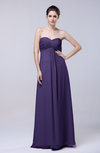 Elegant Empire Chiffon Floor Length Appliques Prom Dresses