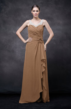 Light Brown Colored Prom Dresses