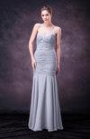 Sexy Sheath Sweetheart Sleeveless Floor Length Paillette Wedding Guest Dresses