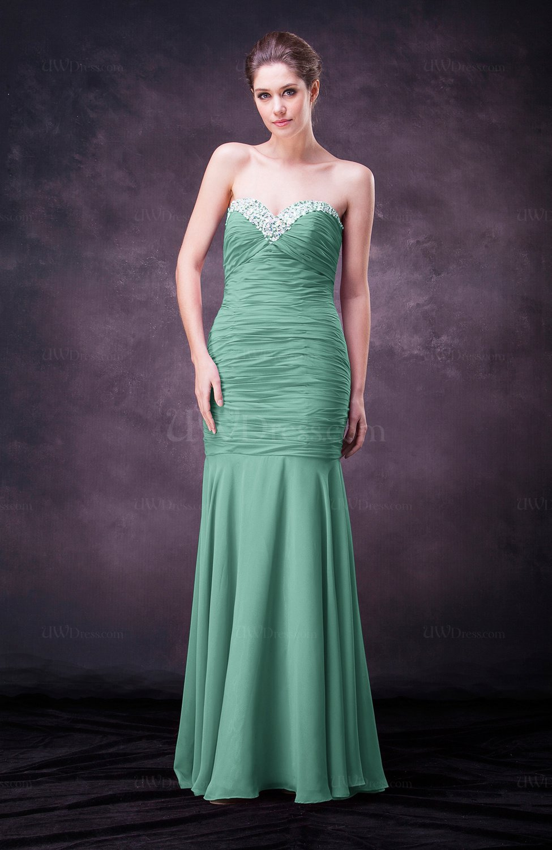 Mint green sexy sheath sweetheart sleeveless floor length for Mint wedding guest dress