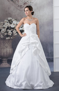 Inexpensive Bridal Gowns Luxury Sleeveless Winter Sweetheart Backless