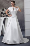 with Sleeves Bridal Gowns Inexpensive Petite Glamorous Full Figure Country
