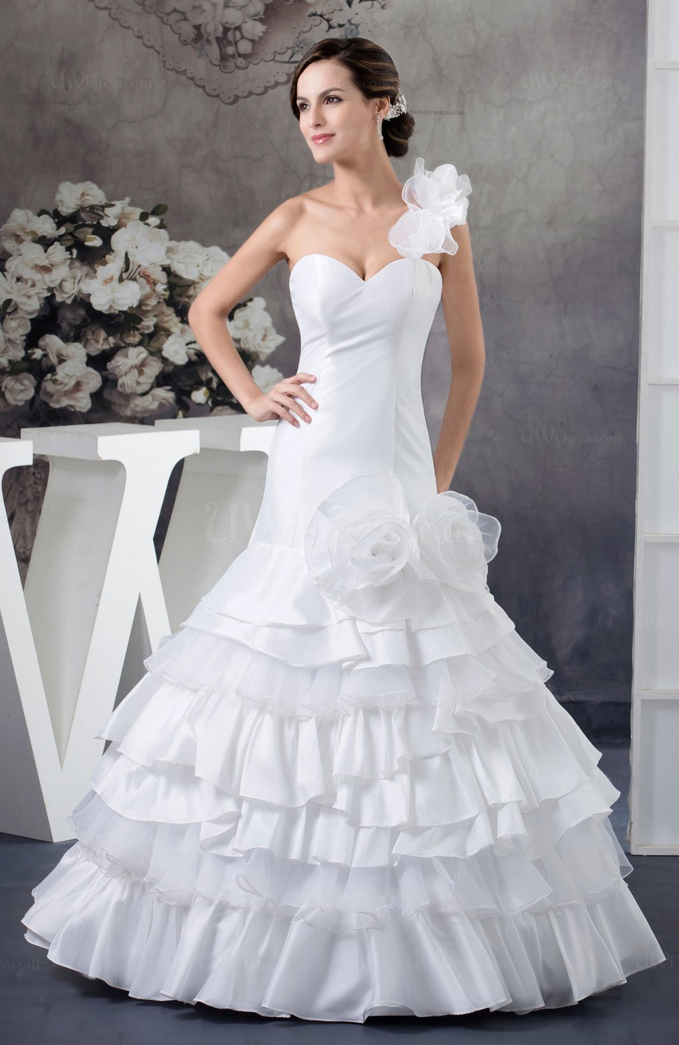 Glamorous Bridal Gowns Formal Spring Trumpet Fall Petite ...