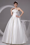 Allure Bridal Gowns Sexy Plus Size Open Back Backless Simple Western Winter
