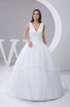 Allure Bridal Gowns Inexpensive Ball Gown Winter Modern Organza Full Figure