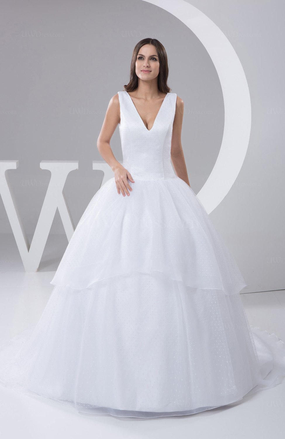 White Allure Bridal Gowns Inexpensive Ball Gown Winter Modern ...