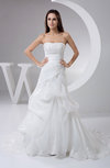 Country Bridal Gowns Strapless Western Unique Open Back Expensive Modern