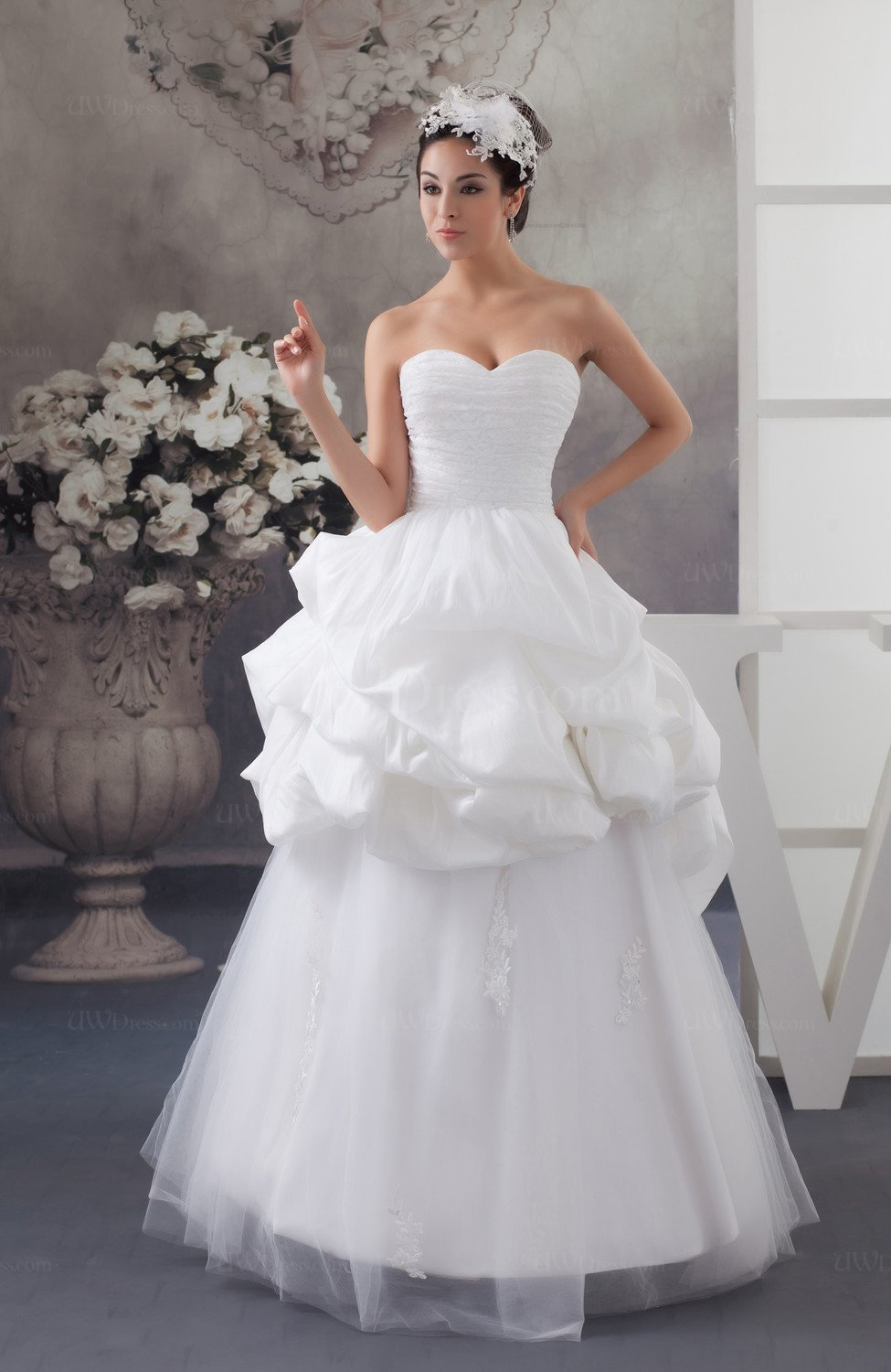 Allure bridal gowns disney princess plus size sleeveless for Princess plus size wedding dresses