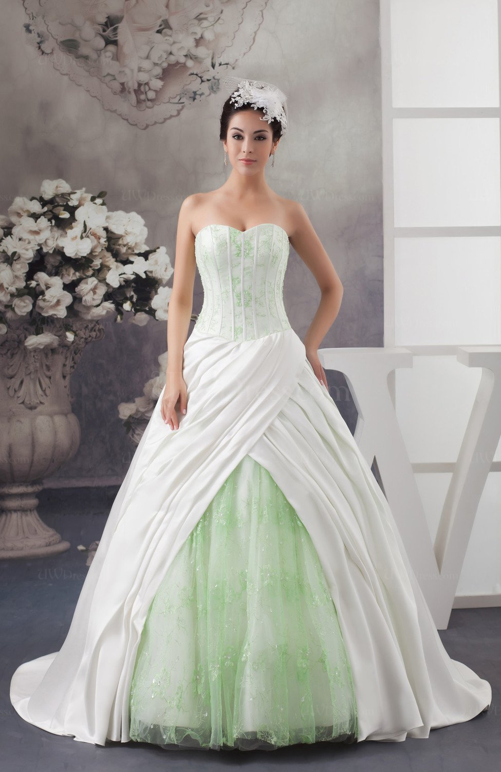 Ball Gown Bridal Gowns Glamorous Open Back Expensive Western Amazing ...