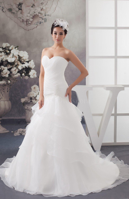 Disney Princess Bridal Gowns Low Back Classic Glamorous Sleeveless ...