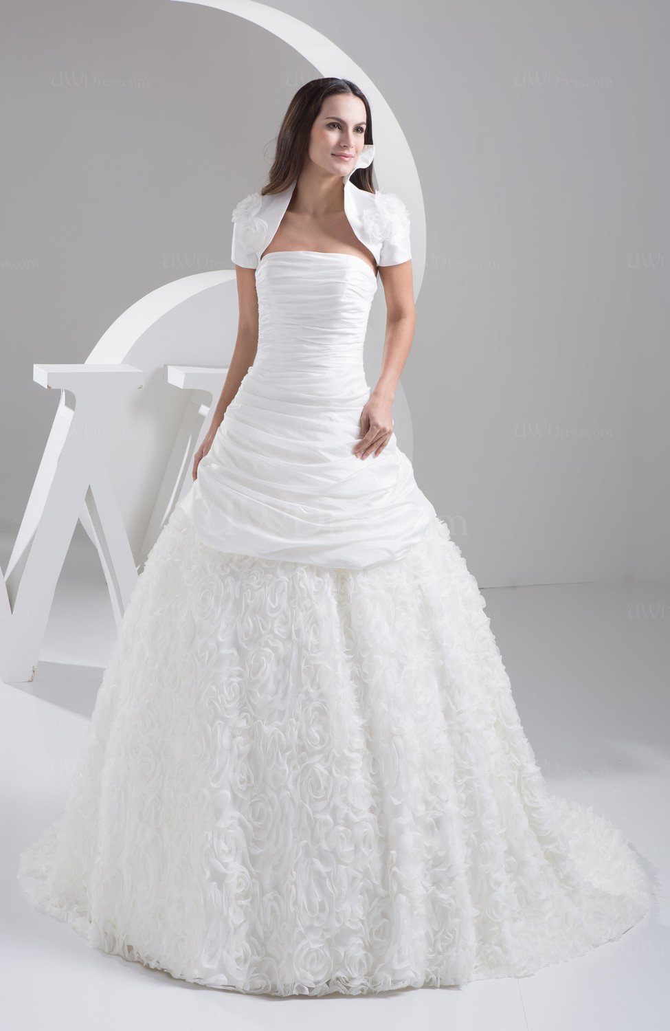 Ball Gown Bridal Gowns Amazing Summer Expensive Simple Open Back Unique