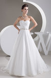 Allure Bridal Gowns Inexpensive Beaded Amazing Modern Strapless Organza