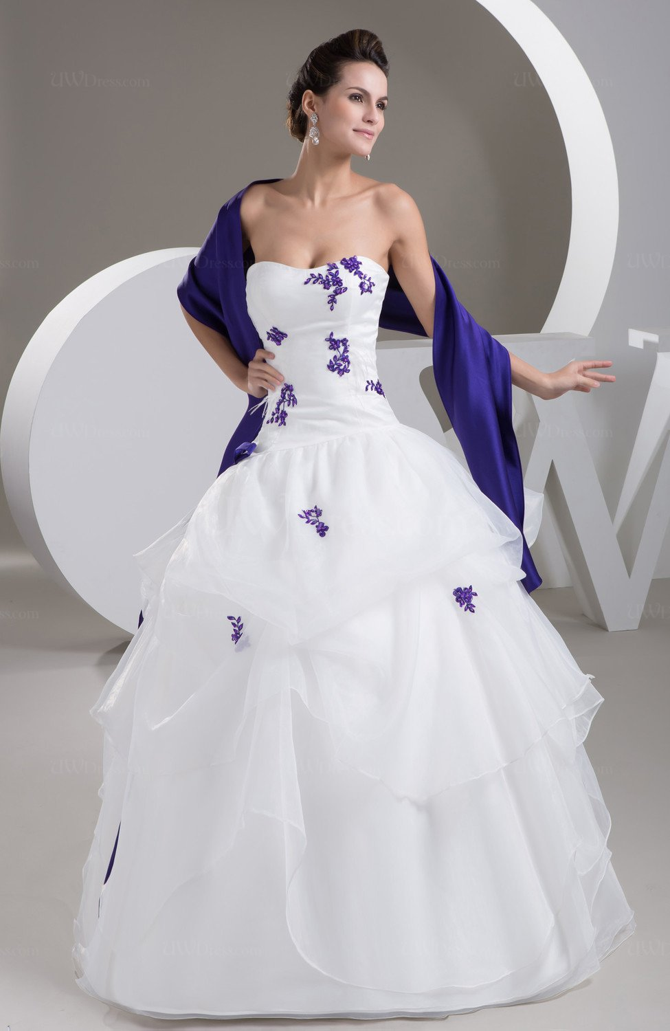 White Allure Bridal Gowns Ball Gown Classic Fall Plus Size